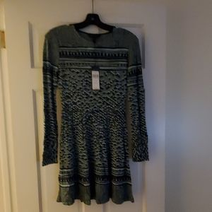 BCBG Max Azria Kennidi sweater dress